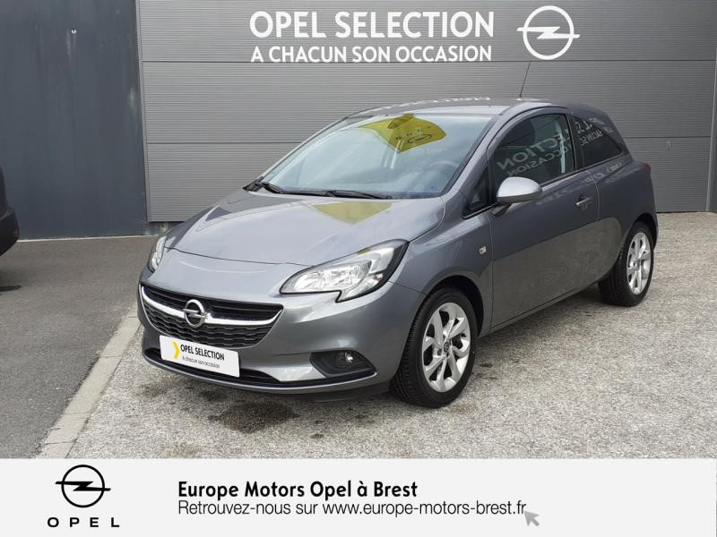Opel Corsa 1.4 90ch Design Edition Start/Stop 3p Gris occasion à Brest