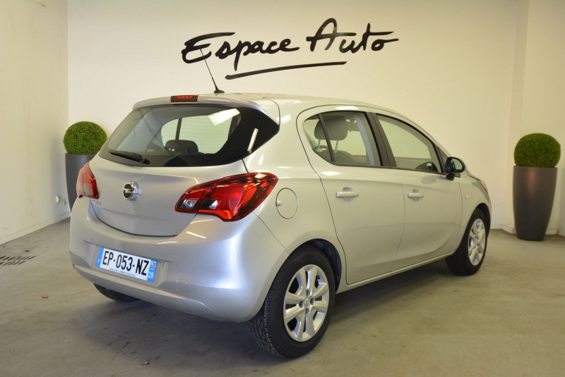 Opel Corsa 1.4 90CH EDITION 5P Gris occasion à Quimper - photo n°2