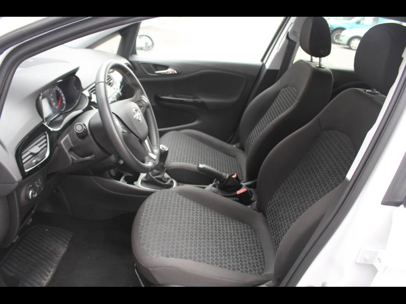 Opel Corsa 1.4 90ch Enjoy Start/Stop 5p Blanc occasion à Cerisé - photo n°5