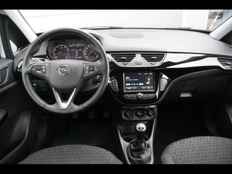 Opel Corsa 1.4 90ch Enjoy Start/Stop 5p Blanc occasion à Cerisé - photo n°9