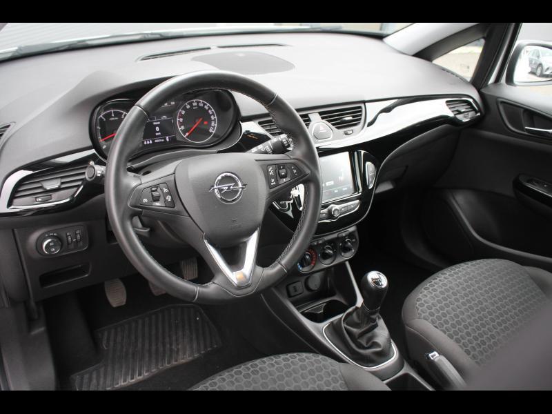 Opel Corsa 1.4 90ch Enjoy Start/Stop 5p Blanc occasion à Cerisé - photo n°4