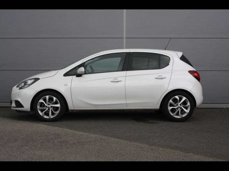 Opel Corsa 1.4 90ch Enjoy Start/Stop 5p Blanc occasion à Cerisé - photo n°2