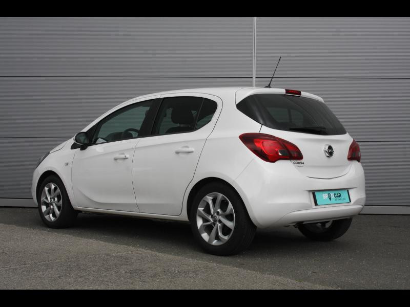 Opel Corsa 1.4 90ch Enjoy Start/Stop 5p Blanc occasion à Cerisé - photo n°3