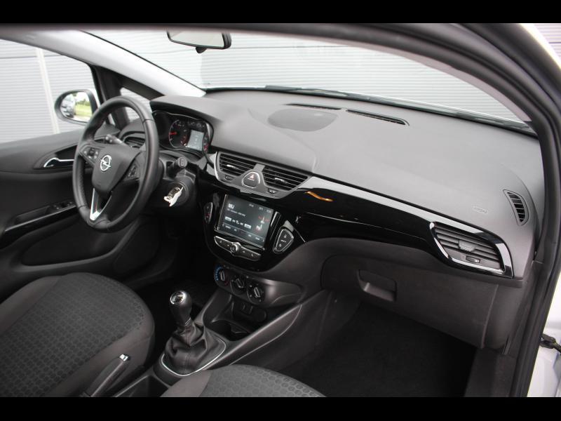 Opel Corsa 1.4 90ch Enjoy Start/Stop 5p Blanc occasion à Cerisé - photo n°6