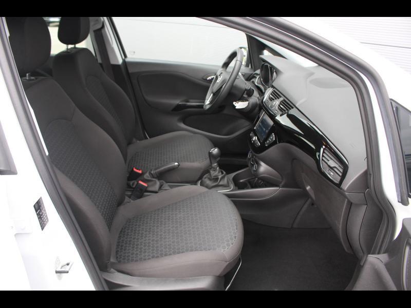 Opel Corsa 1.4 90ch Enjoy Start/Stop 5p Blanc occasion à Cerisé - photo n°7