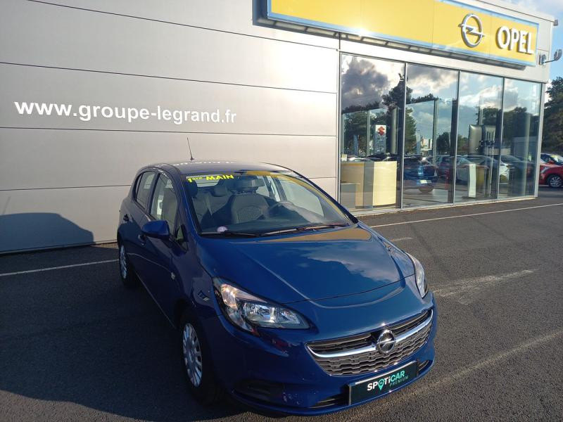 Opel Corsa 1.4 90ch Enjoy Start/Stop 5p Bleu occasion à Le Mans