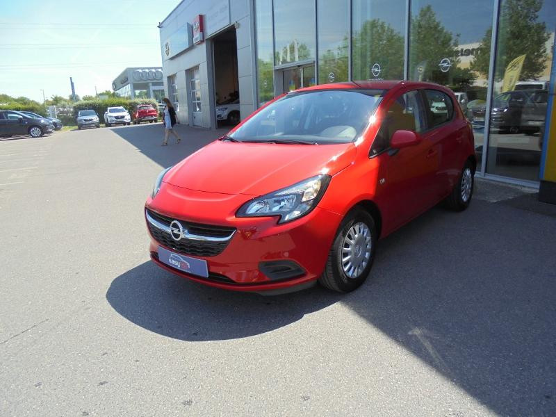Opel Corsa 1.4 90ch Enjoy Start/Stop 5p Rouge occasion à Vert-Saint-Denis - photo n°3