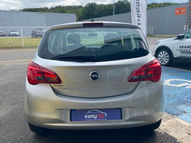Opel Corsa 1.4 90ch Enjoy Start/Stop 5p Gris occasion à Samoreau - photo n°4