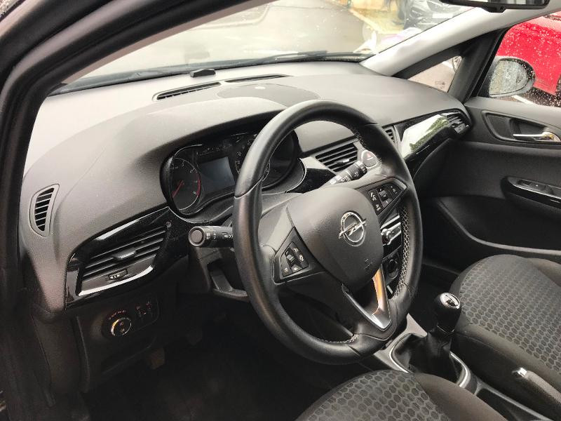 Opel Corsa 1.4 90ch Play 5p Noir occasion à Vert-Saint-Denis - photo n°6