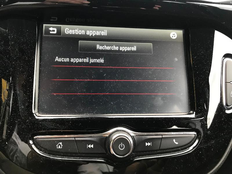 Opel Corsa 1.4 90ch Play 5p Noir occasion à Vert-Saint-Denis - photo n°19