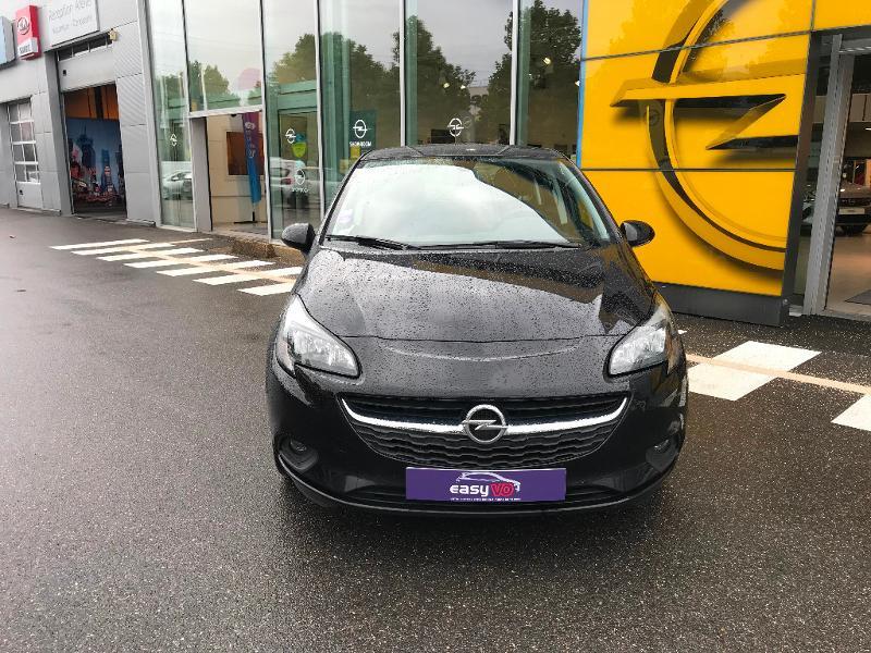 Opel Corsa 1.4 90ch Play 5p Noir occasion à Vert-Saint-Denis - photo n°4