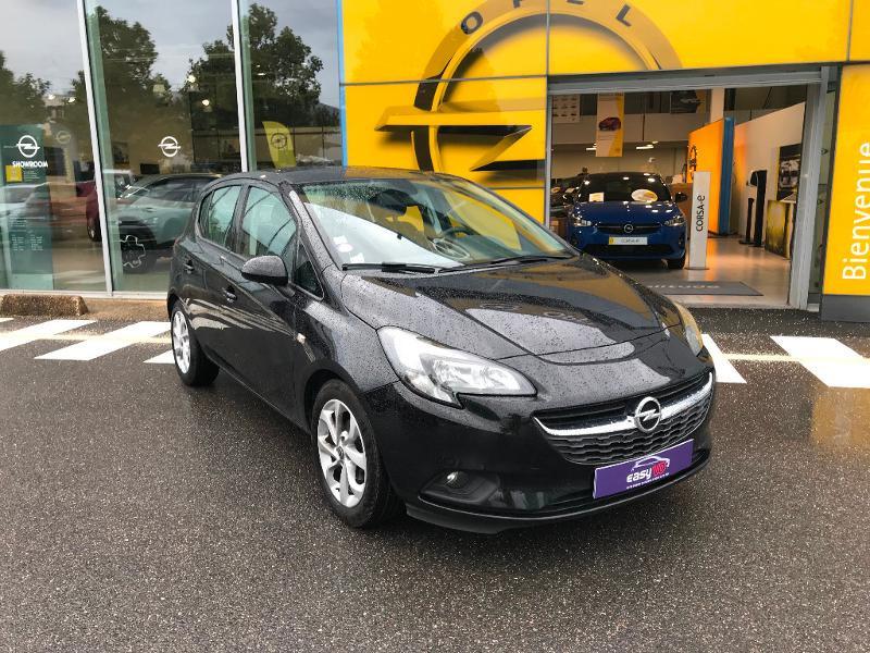 Opel Corsa 1.4 90ch Play 5p Noir occasion à Vert-Saint-Denis