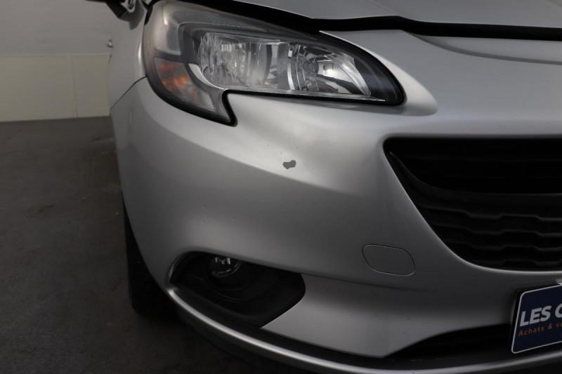 Opel Corsa 1.4 Turbo 100 ch Black Edition Gris occasion à La Garde - photo n°8
