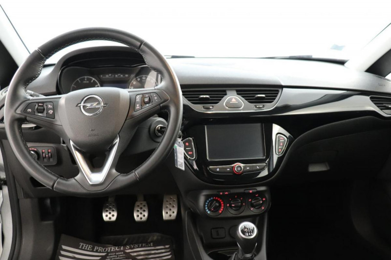 Opel Corsa 1.4 Turbo 100 ch Black Edition Gris occasion à La Garde - photo n°4