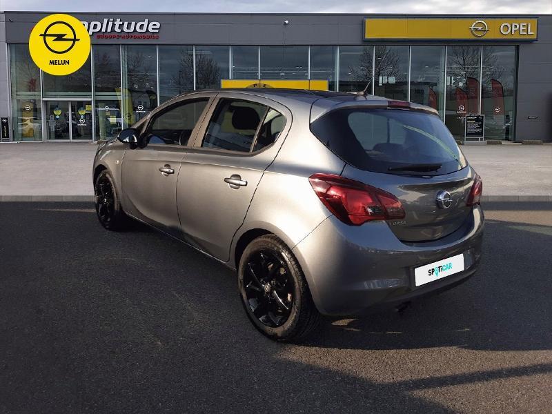 Opel Corsa 1.4 Turbo 100ch Black Edition Start/Stop 5p Gris occasion à Vert-Saint-Denis - photo n°7