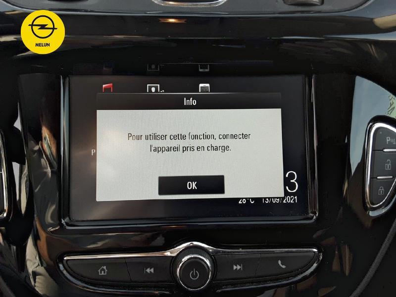 Opel Corsa 1.4 Turbo 100ch Black Edition Start/Stop 5p Gris occasion à Vert-Saint-Denis - photo n°17