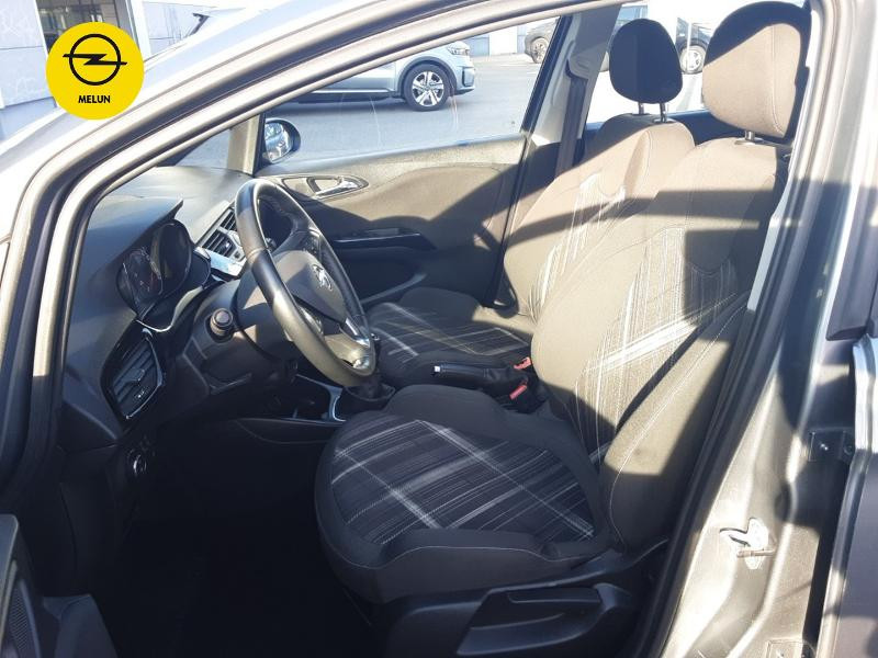 Opel Corsa 1.4 Turbo 100ch Black Edition Start/Stop 5p Gris occasion à Vert-Saint-Denis - photo n°9