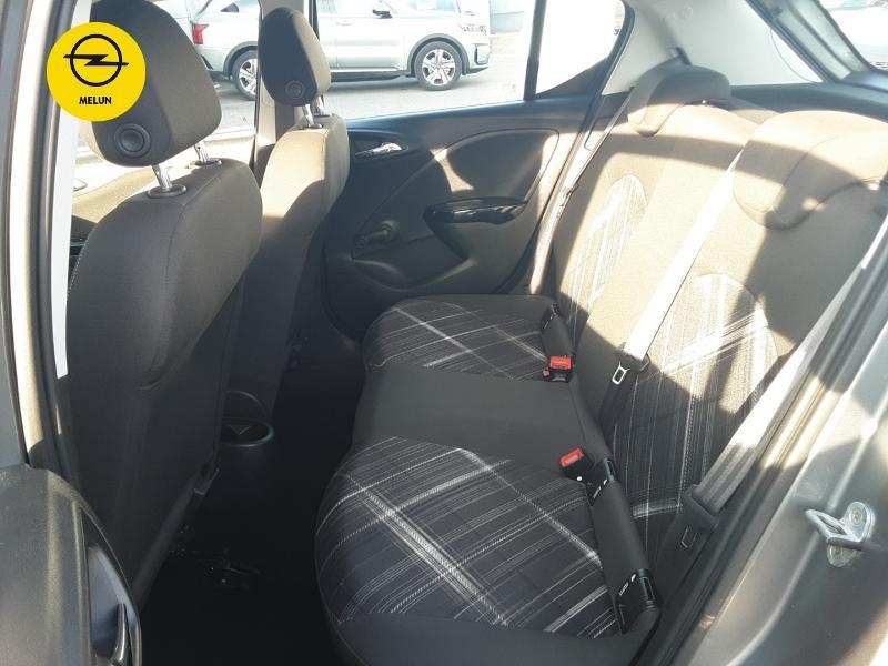 Opel Corsa 1.4 Turbo 100ch Black Edition Start/Stop 5p Gris occasion à Vert-Saint-Denis - photo n°10