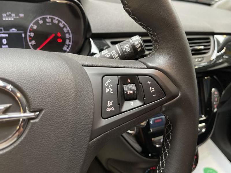 Opel Corsa 1.4 Turbo 100ch Black Edition Start/Stop 5p Blanc occasion à Le Mans - photo n°9
