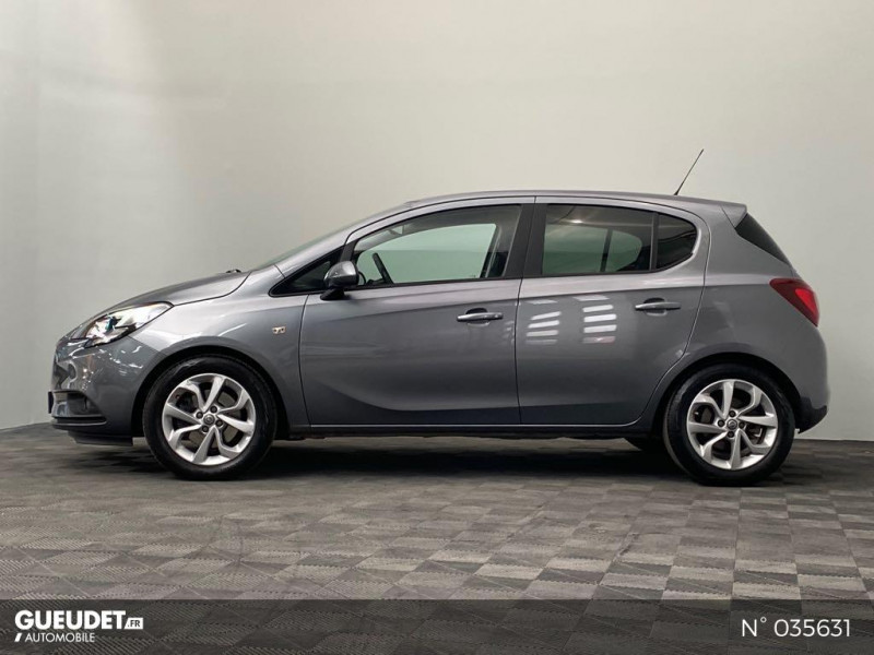 Opel Corsa 1.4 Turbo 100ch Design Edition Start/Stop 5p Gris occasion à Abbeville - photo n°8