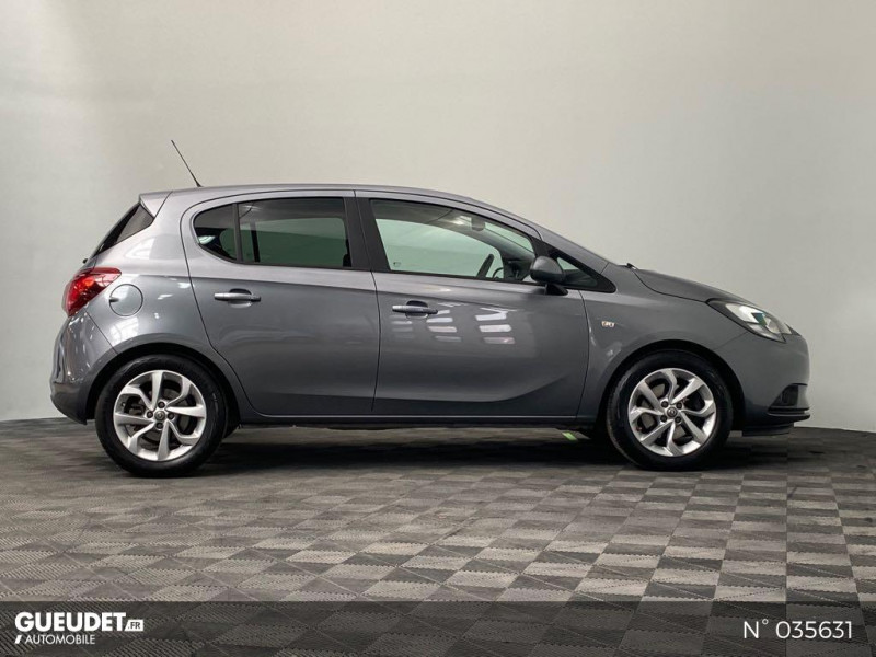 Opel Corsa 1.4 Turbo 100ch Design Edition Start/Stop 5p Gris occasion à Abbeville - photo n°7