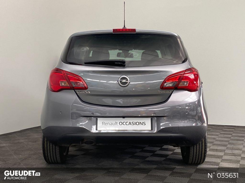 Opel Corsa 1.4 Turbo 100ch Design Edition Start/Stop 5p Gris occasion à Abbeville - photo n°3