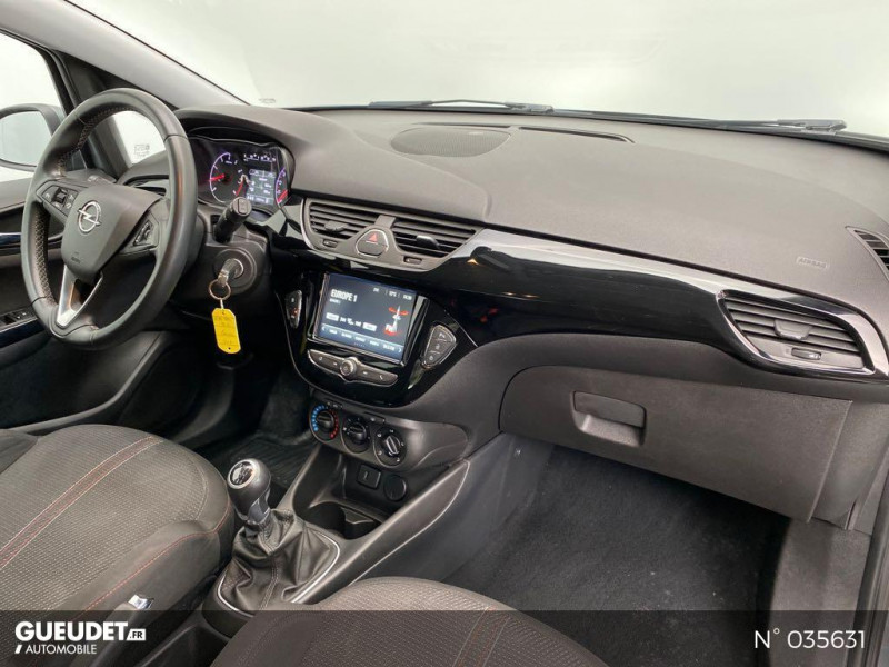 Opel Corsa 1.4 Turbo 100ch Design Edition Start/Stop 5p Gris occasion à Abbeville - photo n°4