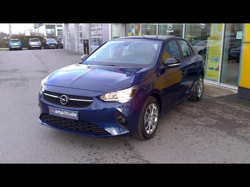 Opel Corsa 1.5 D 100ch Edition Business Bleu occasion à Vert-Saint-Denis