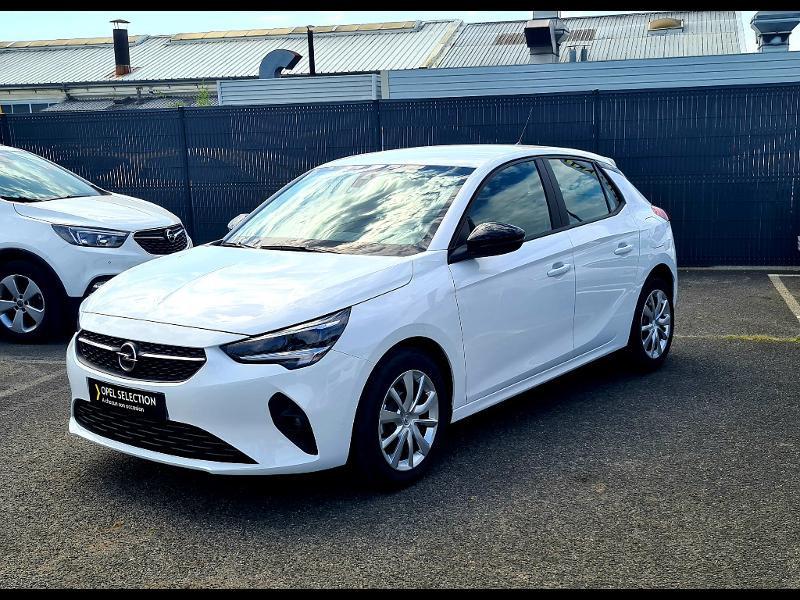 Opel Corsa 1.5 D 100ch Edition Blanc occasion à Corbeil-Essonnes