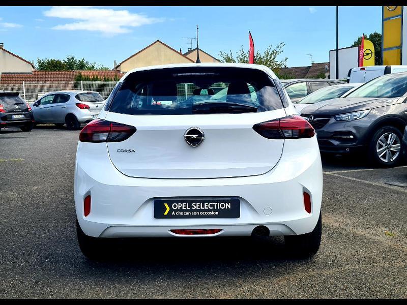 Opel Corsa 1.5 D 100ch Edition Blanc occasion à Corbeil-Essonnes - photo n°4