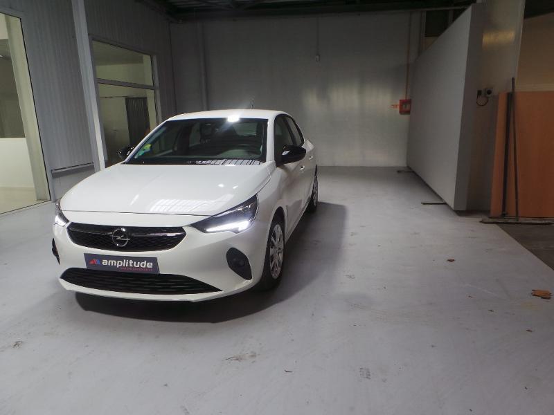 Opel Corsa 1.5 D 100ch Edition Blanc occasion à Corbeil-Essonnes - photo n°3