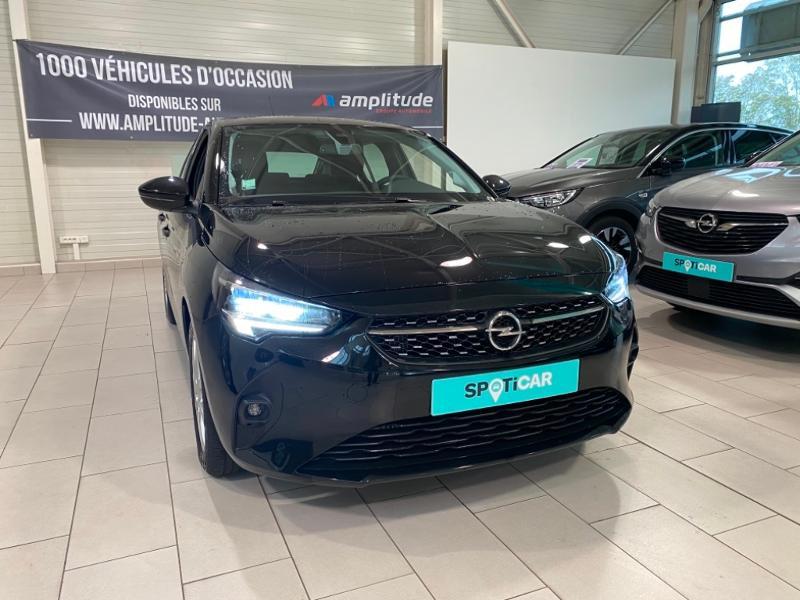 Opel Corsa 1.5 D 100ch Elegance Noir occasion à Lognes - photo n°7