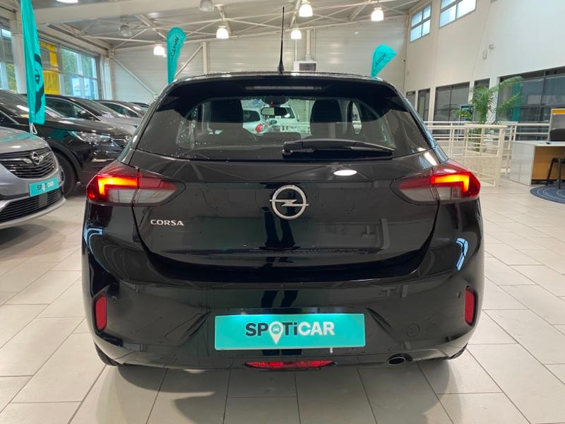 Opel Corsa 1.5 D 100ch Elegance Noir occasion à Lognes - photo n°3