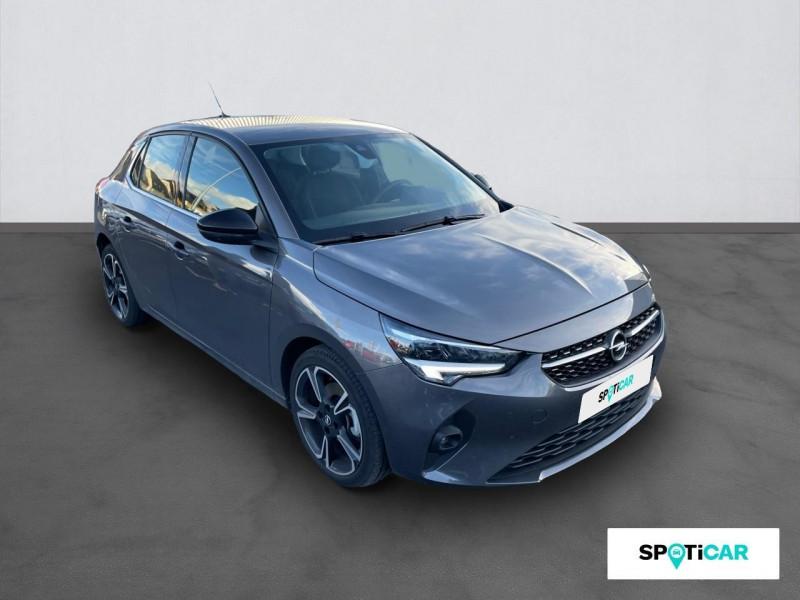 Opel Corsa 1.5 Diesel 100 ch BVM6 Elegance Gris occasion à ONET LE CHATEAU - photo n°3