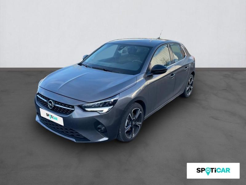 Opel Corsa 1.5 Diesel 100 ch BVM6 Elegance Gris occasion à ONET LE CHATEAU
