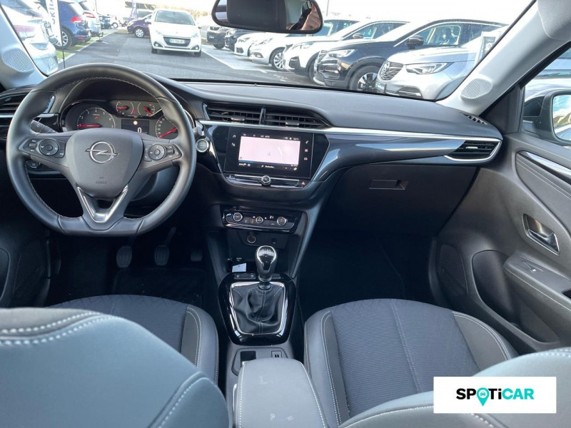 Opel Corsa 1.5 Diesel 100 ch BVM6 Elegance Gris occasion à ONET LE CHATEAU - photo n°8