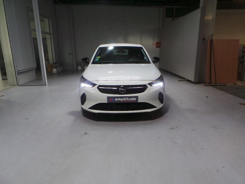 Opel Corsa 5P Edition 1.5 Diesel 100ch S/S BVM6 (2020A) Blanc occasion à Brie-Comte-Robert - photo n°2