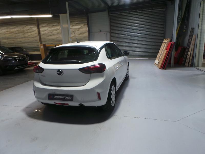 Opel Corsa 5P Edition 1.5 Diesel 100ch S/S BVM6 (2020A) Blanc occasion à Brie-Comte-Robert - photo n°5