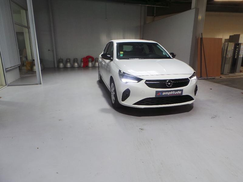 Opel Corsa 5P Edition 1.5 Diesel 100ch S/S BVM6 (2020A) Blanc occasion à Brie-Comte-Robert