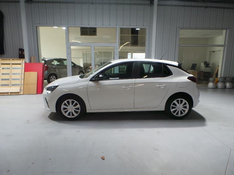 Opel Corsa 5P Edition 1.5 Diesel 100ch S/S BVM6 (2020A) Blanc occasion à Brie-Comte-Robert - photo n°4