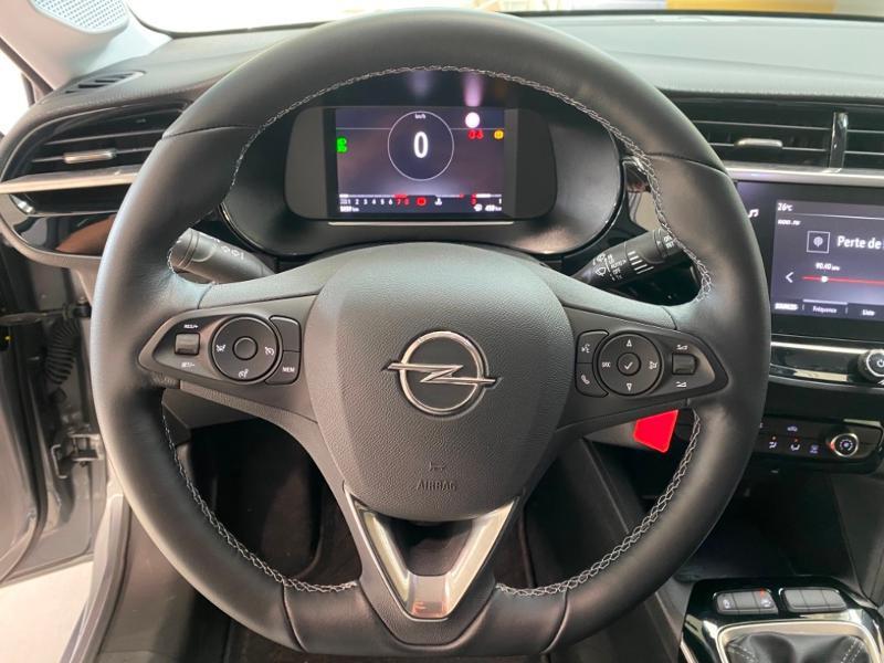 Opel Corsa 5P Elégance 1.2 Turbo 100ch S/S BVM6 (2020A) Gris occasion à Lognes - photo n°12