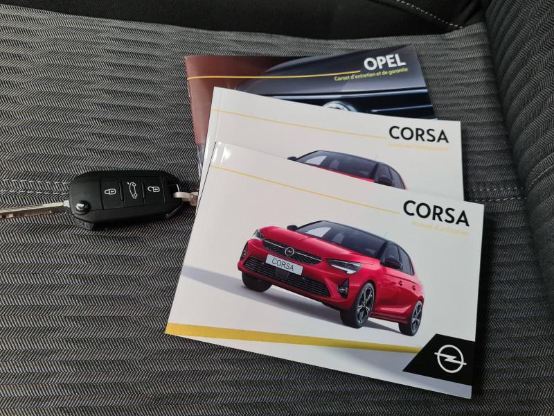 Opel Corsa Corsa 1.2 75 ch BVM5 Edition 5p Rouge occasion à Dax - photo n°19