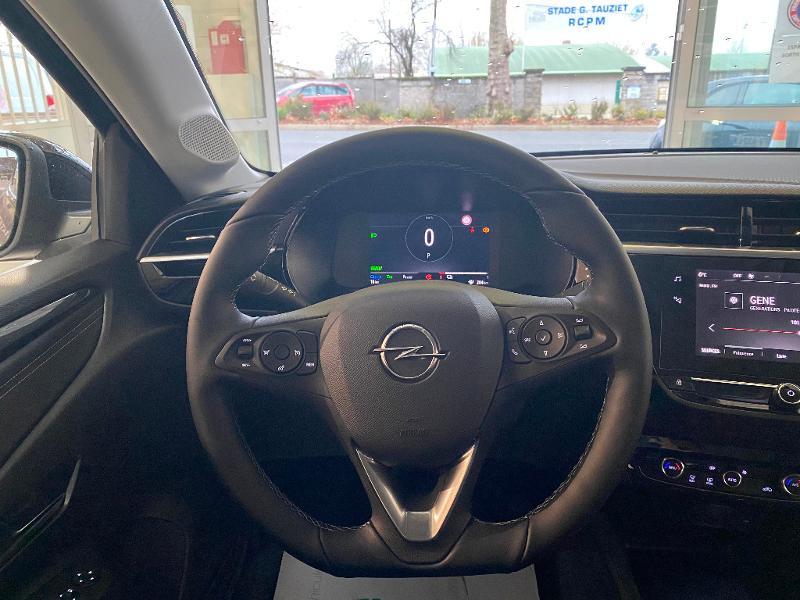 Opel Corsa Corsa-e 136ch Elegance Noir occasion à Meaux - photo n°9