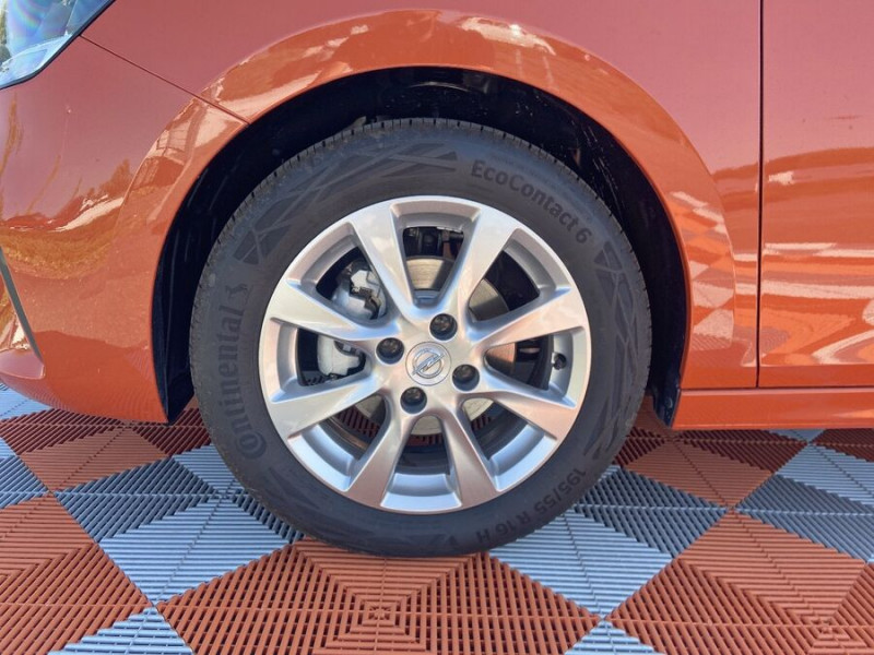 Opel Corsa NEW 1.2 75 EDITION Clim JA 16 Orange occasion à Montauban - photo n°9