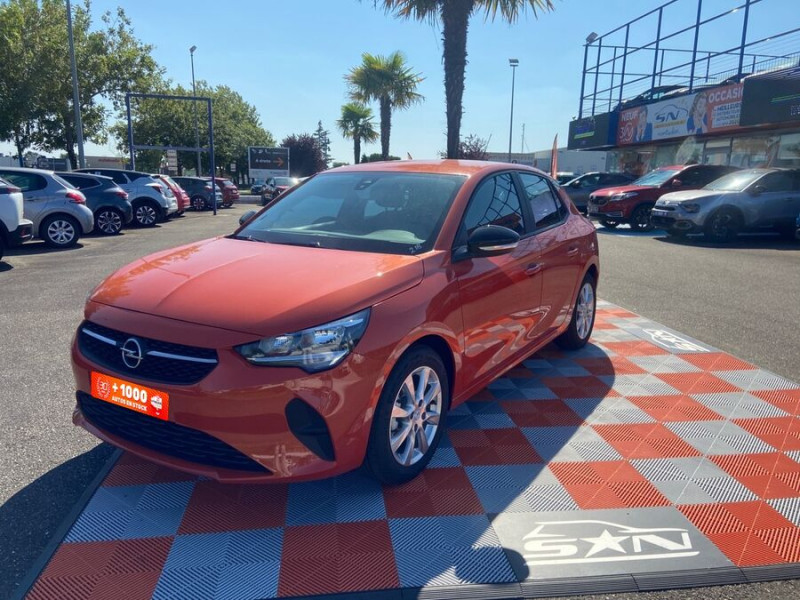Opel Corsa NEW 1.2 75 EDITION Clim JA 16 Orange occasion à Montauban