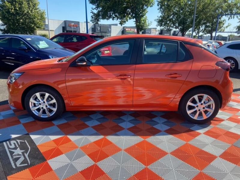 Opel Corsa NEW 1.2 75 EDITION Clim JA 16 Orange occasion à Montauban - photo n°3