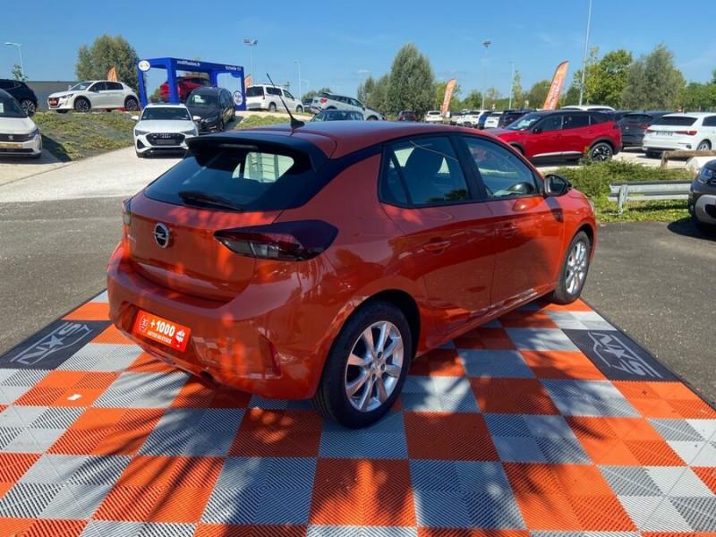 Opel Corsa NEW 1.2 75 EDITION Clim JA 16 Orange occasion à Montauban - photo n°2