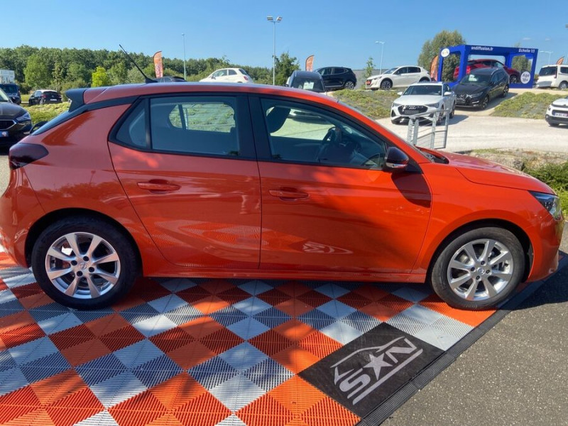 Opel Corsa NEW 1.2 75 EDITION Clim JA 16 Orange occasion à Montauban - photo n°4