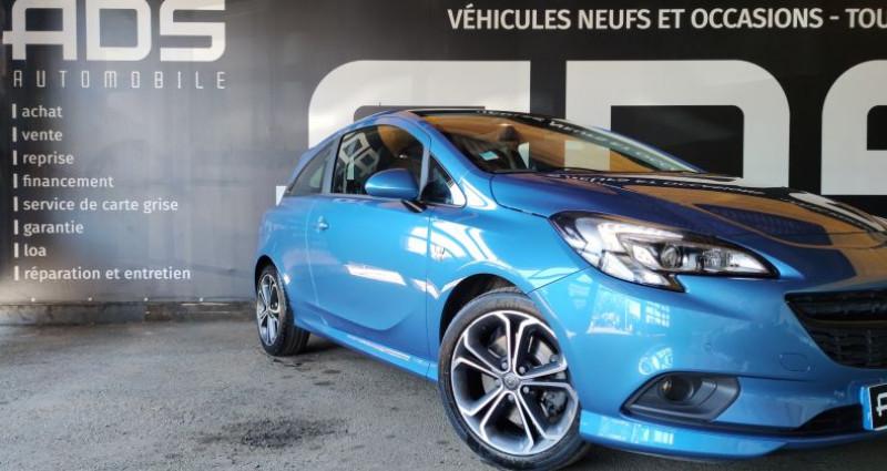 Opel Corsa V 1.4 Turbo 150ch S Start/Stop 3p Bleu occasion à Diebling - photo n°5