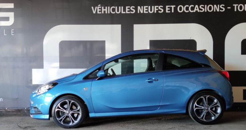 Opel Corsa V 1.4 Turbo 150ch S Start/Stop 3p Bleu occasion à Diebling - photo n°6